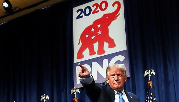 """美共和党开大会纲领""""缺席"""":这不重要,让特朗普连任再说(图1)"""