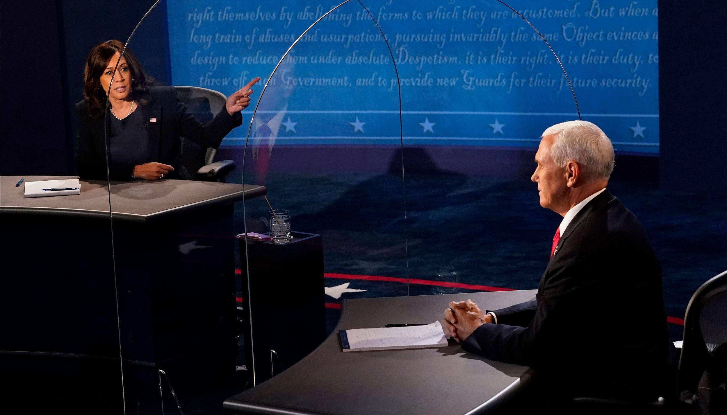 美国副总统辩论:上司年龄与新冠成焦点插图1