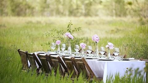 """甘肃乡野放着7张""""餐桌"""",或许可以让你找到久违的大自然味道"""