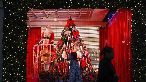 """封鎖之下購物旺季怎么過?英法政府賣力""""兜售""""圣誕樹"""