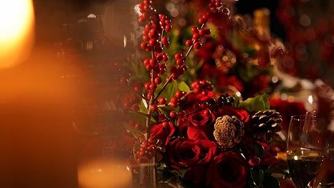"""今年的平安夜,我們選出了這些有點""""好吃""""的圣誕桌   北京篇"""