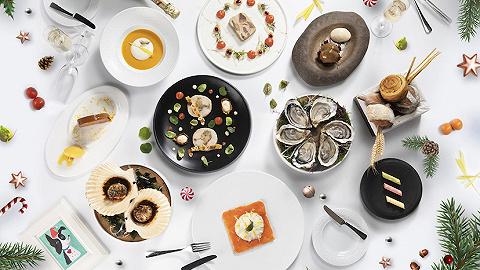 """今年的平安夜,我們選出了這些有點""""好吃""""的圣誕桌   上海篇"""