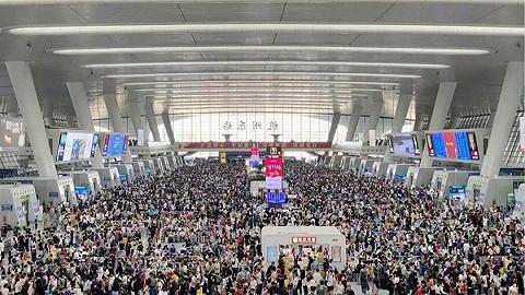 长三角铁路2020年客发量突破4.7亿人次,国庆节创单日最高纪录