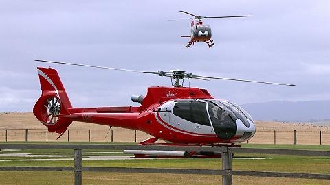 中信海直开通国内首条直升机航线,机票售价999元