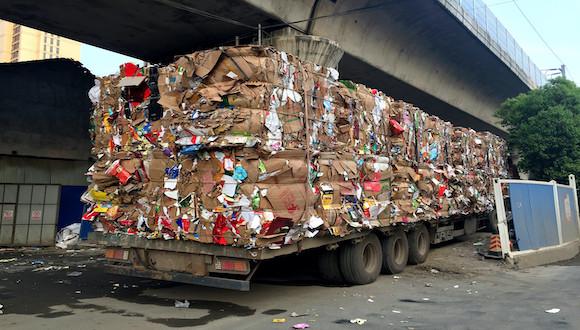 废纸价格再创新高,A级废纸吨价或突破2600元