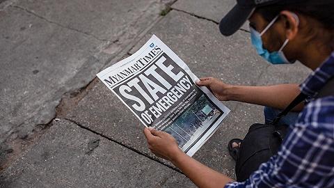 """缅甸政变后网友""""求救"""",美国考虑制裁"""