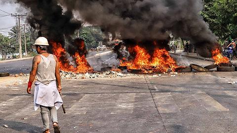 在缅中资企业遭打砸抢烧,中国大使馆:性质十分恶劣