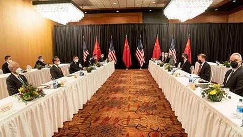 杨洁篪、王毅同布林肯、沙利文举行中美高层战略对话