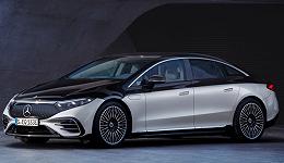 """奔驰EQS全球首发亮相:""""迈巴赫式""""双色车身,搭载MBUX Hyperscreen系统"""