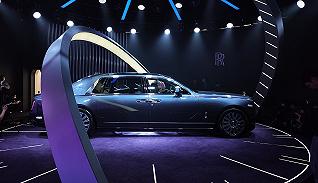 你可以錯過流星,但不能錯過全球只有20臺的勞斯萊斯幻影典藏版|2021上海車展