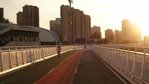 后厂村路上的北京折叠