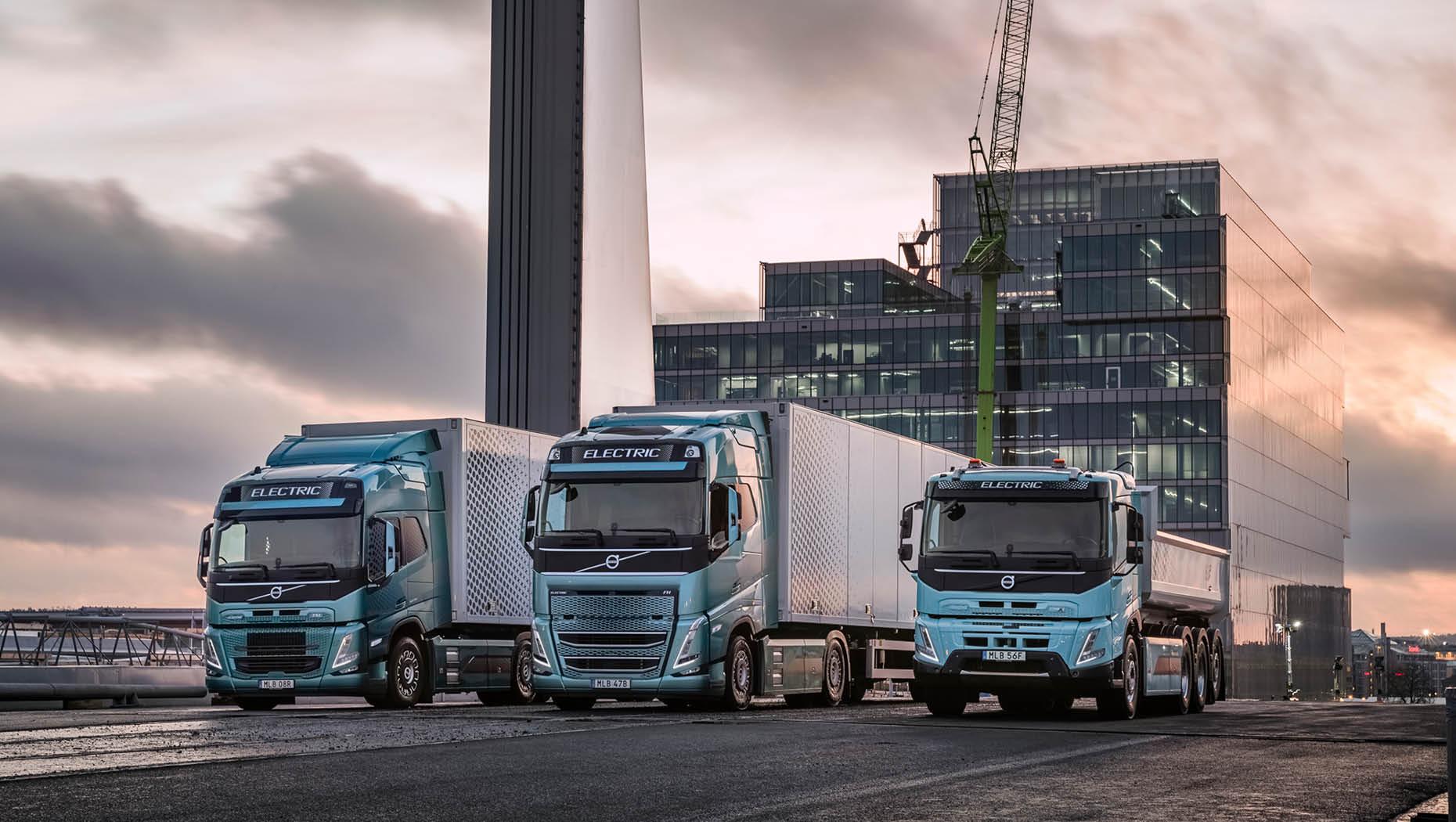 天富招商主管Q958337沃尔沃集团预测称,电动卡车市场将实现快速增长