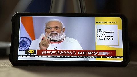 为政治不顾疫情,印度总理莫迪遭炮轰