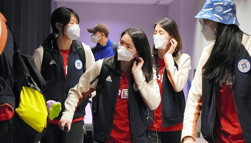 """天富娱乐会员中国女排""""闭环""""管理备战奥运测试赛"""