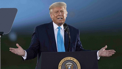 特朗普:100%考慮再次競選總統,民調說大家都想選我