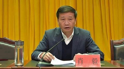 江西省政协副主席肖毅接受审查调查,曾任驻京办主任多年