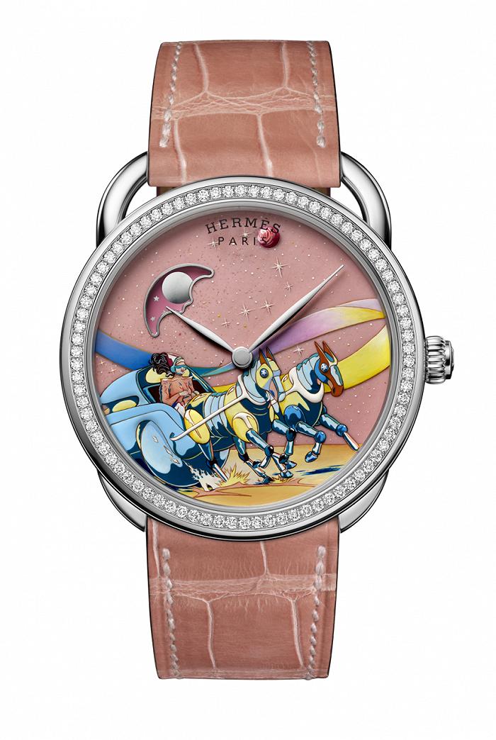 摩臣4首页爱马仕微绘腕表展现鲜活创意,宇舶表英超联赛特别腕表带来极致观赛体验丨当周腕表