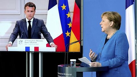 马克龙默克尔要求美国丹麦给说法,窃听风波影响欧美谈判