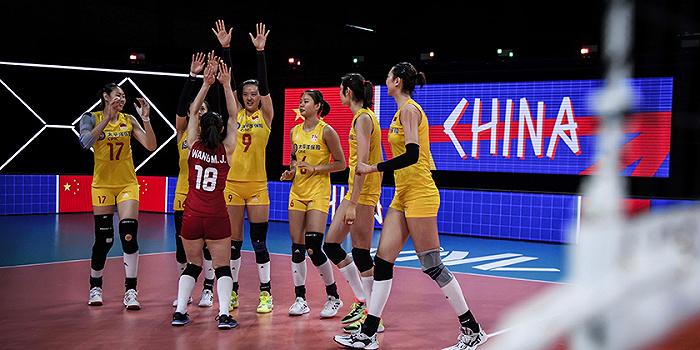 中国女排七连胜收官,磨炼阵容为奥运做准备