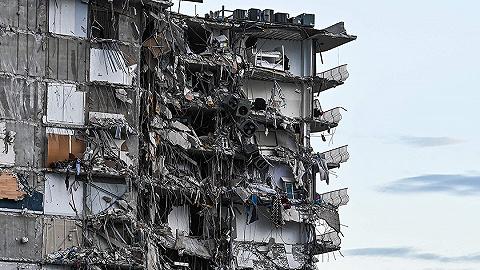 迈阿密公寓垮塌99人失联,大楼多年来一直在下沉