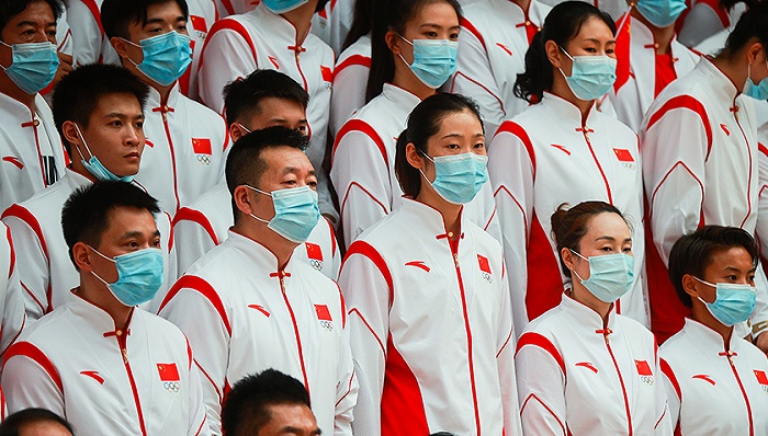 天富娱乐会员中国体育代表团官宣:朱婷、赵帅担任东京奥运会开幕式旗手