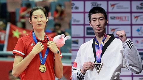 双旗手为奥运首次,中国体育代表团第111位出场