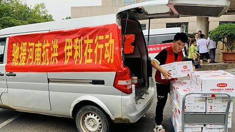第一口热牛奶,第一次安心微笑:穿梭在郑州暴雨的营养支援
