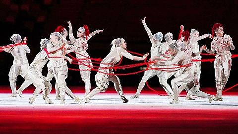 【图集】情同与共:东京奥运会开幕式将疫情作为视觉元素