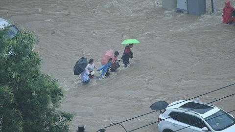从郑州水灾模型推演看城市洪涝风险管理