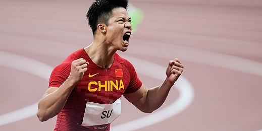 奥运之星 | 苏炳添半决赛9秒83一战封神,百米飞人大战迎亚洲之光