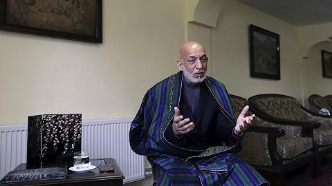 塔利班將與阿前總統卡爾扎伊交接權力,后者曾說塔利班將是該國政治參與者