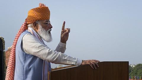 莫迪:印度將啟動1.35萬億美元基建計劃,旨在創造就業、達成氣候目標