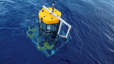 """中国首个深海中微子望远镜建设项目""""海铃计划""""首航告捷"""