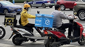 """研究报告揭开外卖平台用工之谜:用人单位隐形,骑手变""""个体户"""""""