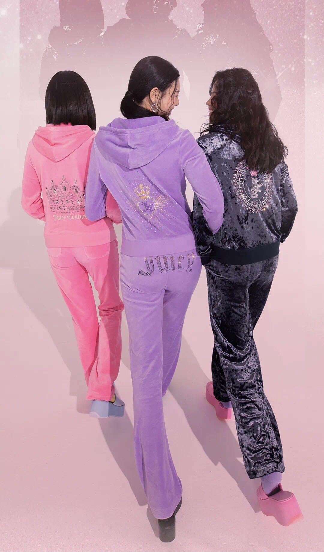 摩登4首页那个曾靠丝绒运动套装风靡全球的Juicy Couture,要在中国卷土重来