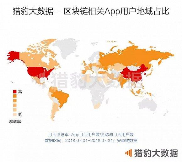 全球区块链App独家数据:女性用户爱挖矿,年轻人更爱炒币