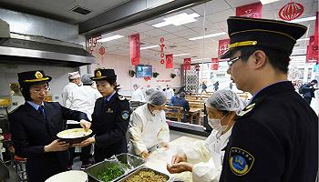 春运在即,天津铁路系统开展食品安全关键环节指导检查