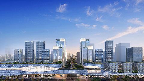 华润置地新时代广场,郑州高铁东广场封面之作