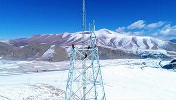 海拔4700米,四川建设者建设世界最高超高压输电线路
