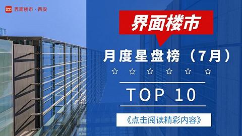 新盘涌现产品各有千秋,月度星盘榜top10亮相 | 7月榜