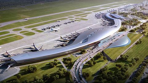宁波栎社机场T3航站楼和第二跑道来了