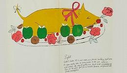 安迪·沃霍尔自制手绘搞笑菜谱本月将拍卖