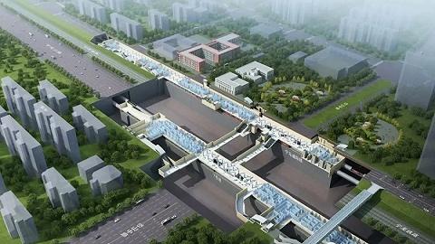 板桥第一条地铁来了,宁马城际站点效果图曝光!