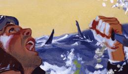 第二次世界大战如何助长了美国社会的鲨鱼狂热?