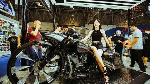 中国国际摩托车展览会今开幕,首发新车超50款